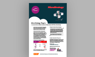 Flyer MicroStrategy Plug-in