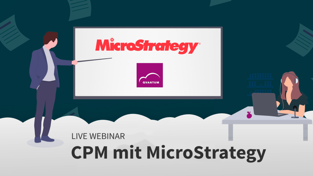 Webinar Corporate Performance Management mit MicroStrategy