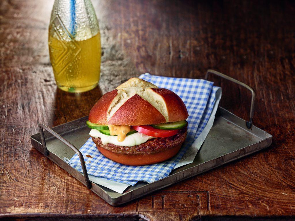 Burgerplatte von Salomon