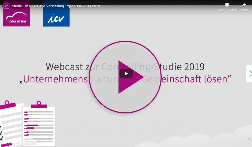 Webcast zur Studie 2019