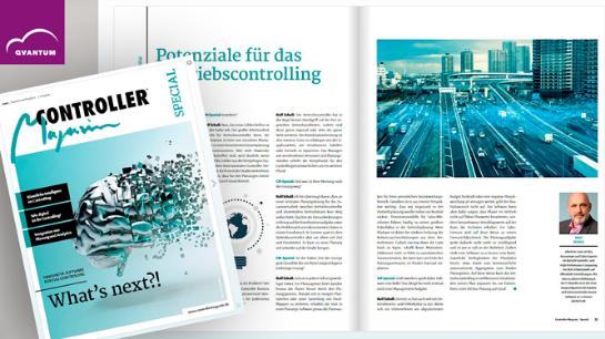 Interview im Controller Magazin mit Ralf Schall